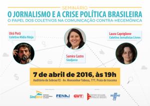 Seminário Dia do Jornalista 2016