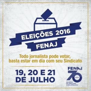 Post Eleição Fenaj 2016