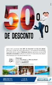 Bancorbrás 50%