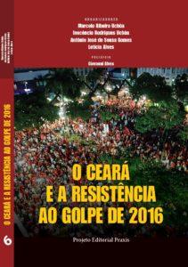 Capa do Livro - Ceará e a Resistência ao Golpe de 2016
